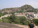Vindhyagiri - View of Chandragiri 14 Mandirji