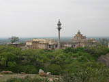 ChandraGiri - 14 Temple View From Badrabahu Cave