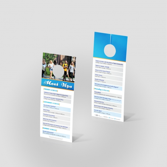 Door hangers jakprints inc for 10000 door hangers