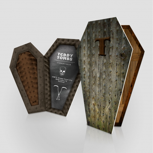 Coffin Cards (Haunt) : Jakprints, Inc