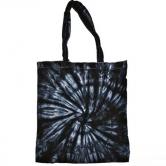 Spider Tie Dye Tote Bag
