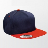 Two Tone Classic 5 Panel Snapback