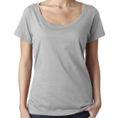 Womens Featherweight Scoop Tee