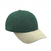 Deluxe Garment Washed Low Profile 2-Tone Cap