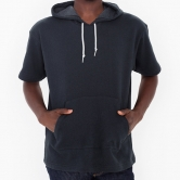 French Terry S/S Kangaroo Pullover Hoodie
