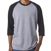 Heavy Cotton 3/4 Sleeve Raglan T-Shirt