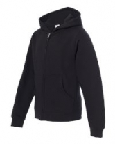 Youth Midweight Zip Hooded Sweatshirt