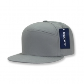 7 Panel Cotton Snapbacks
