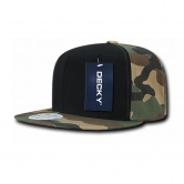 Camo Cotton Snapbacks