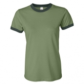 Heather Jersey Ringer T-Shirt