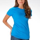 Juniors' Fine Jersey T-Shirt
