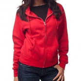 Juniors' Zip Hooded Sweatshirt