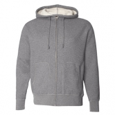 Thermal Sherpa ZIp Hooded Sweatshirt