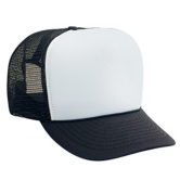 Polyester Foam Front High Crown Golf Style Mesh Back Cap
