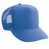 Polyester Foam Front Golf Style Mesh Back Caps