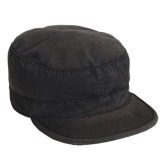 Ultra Force Vintage Black Fatigue Cap