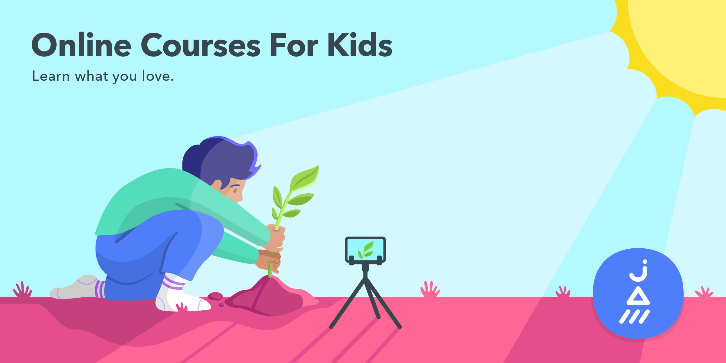 Online Courses for Kids – JAM