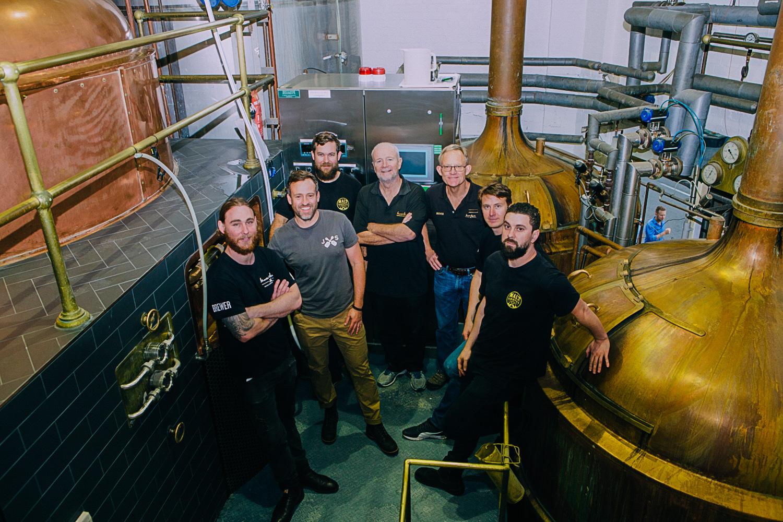 THe Malt Shovel Brewery team of expert brewers
