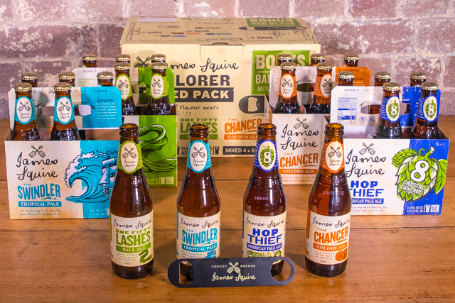 The Mixed Pack is Back - James Squire