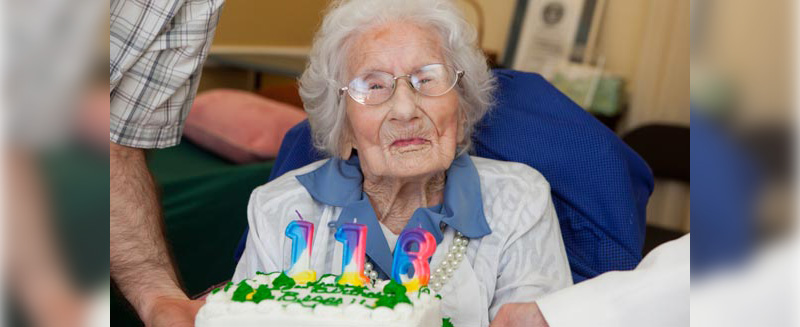 Besse Cooper, world's oldest living person