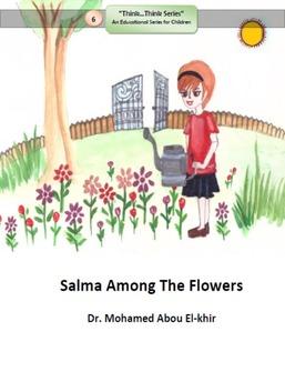 Salma Among The Flowers