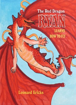 The Red Dragon Ryan Learns How to Fly