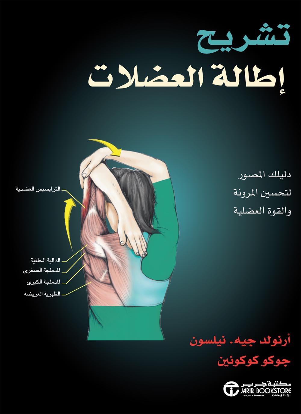 كتاب تشريح اطالة العضلات