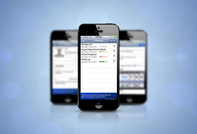 Customer Relationship Management Mobile App