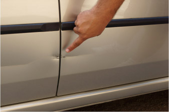 Paintless Dent Removal Door Ding Repair Estimates