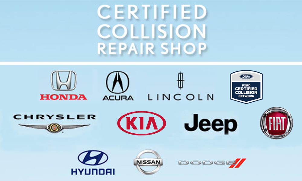 Carlsbad Collision Center Certified Makes