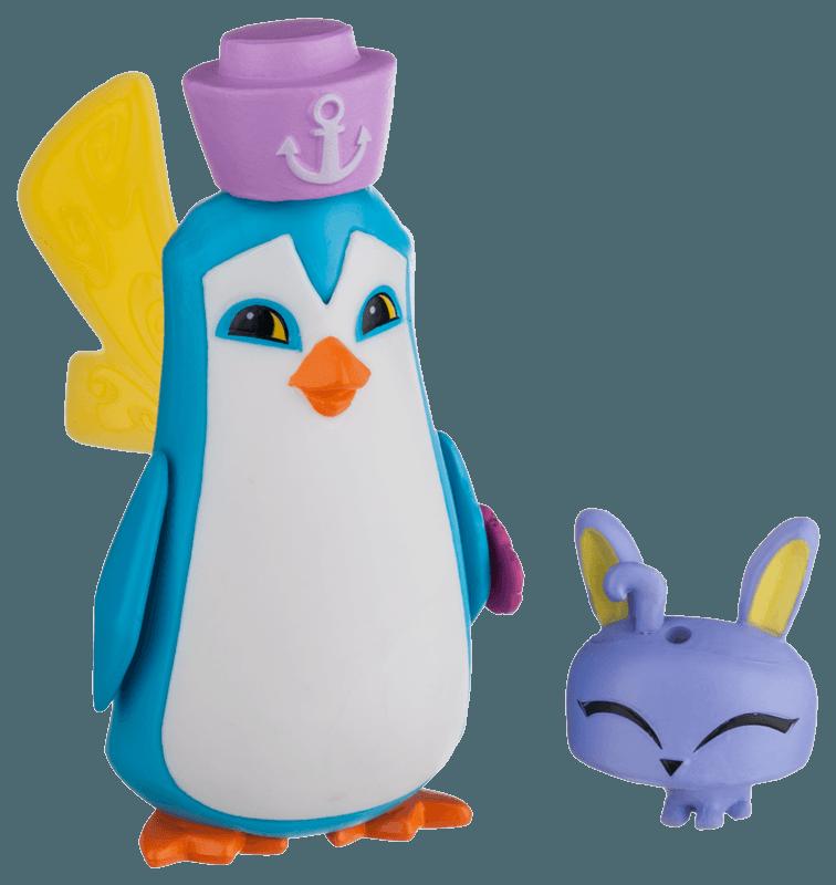 Sir Penguin and Pet Bunny