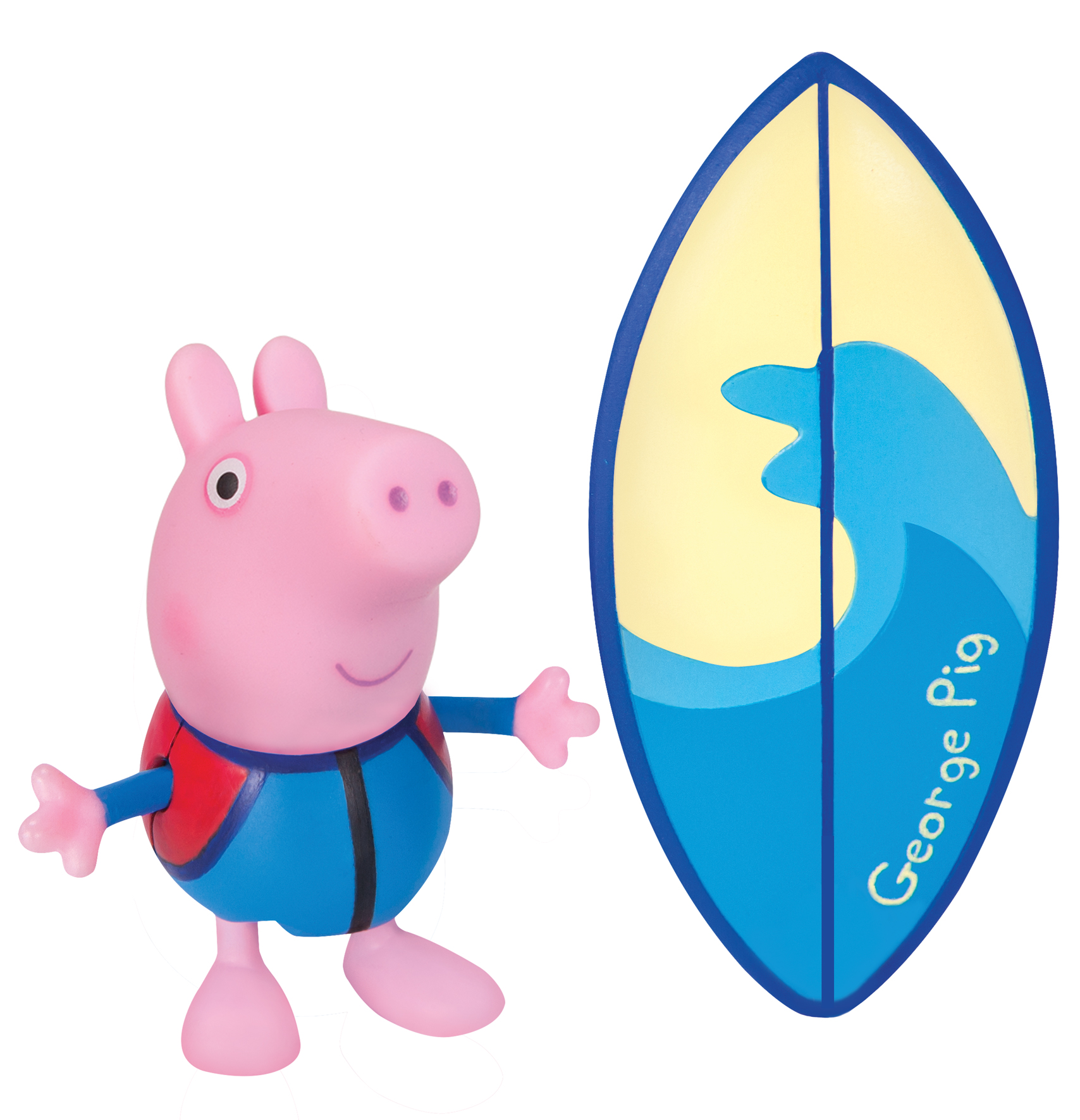 Peppa Pig George Surfboard