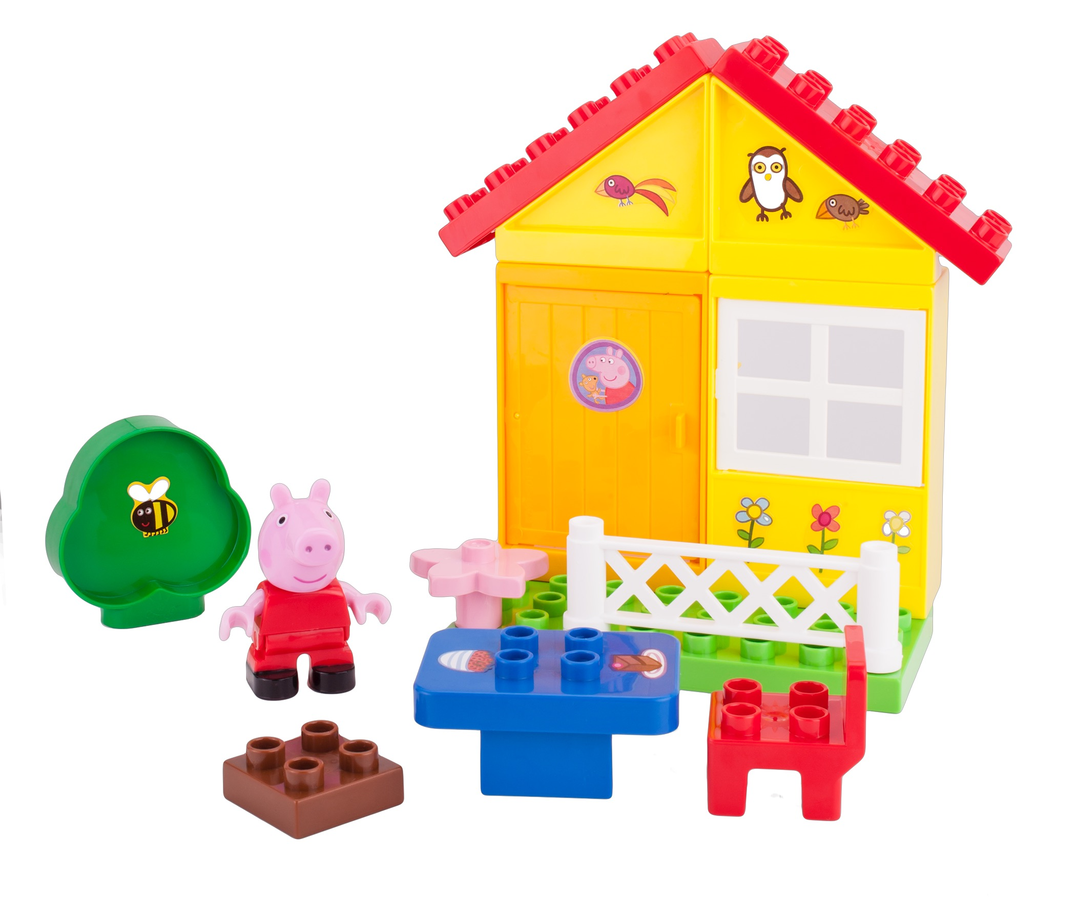 Peppa's Garden House Construction Set