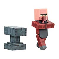 Villager Blacksmith w/ Removable Apron and Anvil