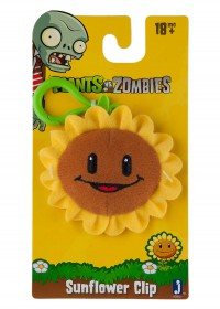 Sunflower Plush Clip