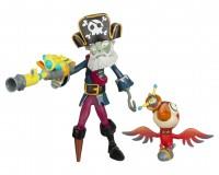 "GW2 3"" Captain Deadbeard & Parrot"