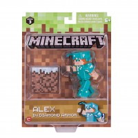 Alex with Diamond Armor Pack