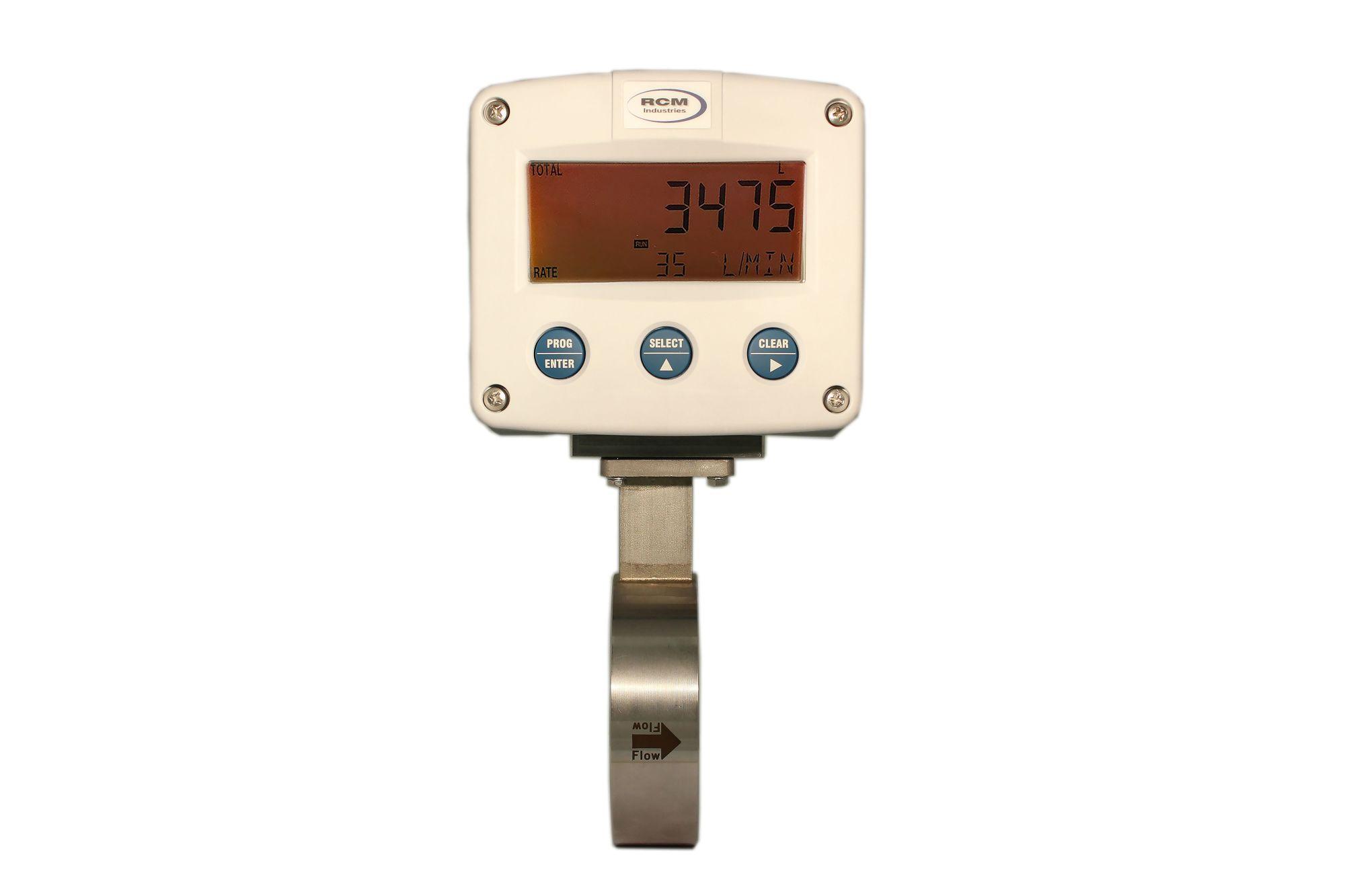 Imagen de: RCM industries - Medidor de flujo de presión diferencial para gases, para conexión con bridas, indicador digital