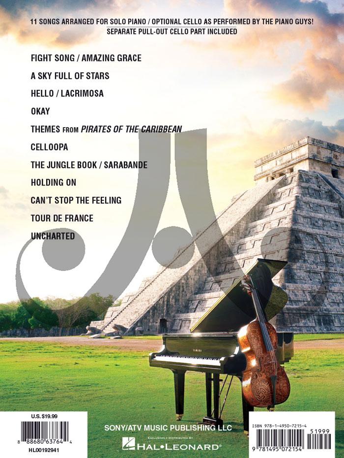 the piano guys solo piano optional cello
