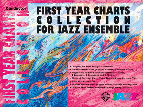 First Year Charts Collection for Jazz Ensemble: Conductor