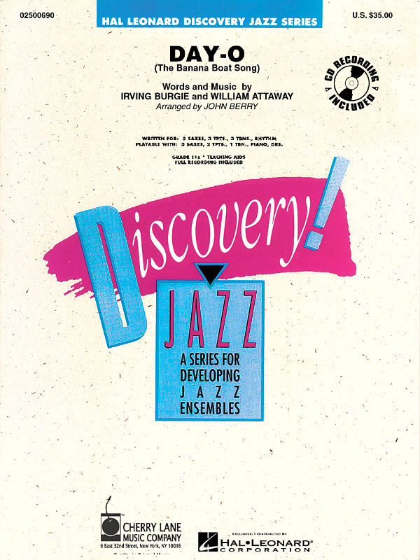 Day-O (The Banana Boat Song): Discovery Jazz