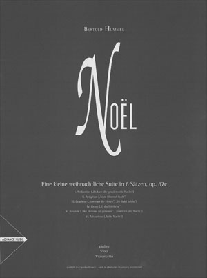 Noel - Violin/Viola/Cello String Trio