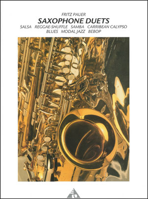 Saxophone Duets - Book/CD - By Fritz Pauer