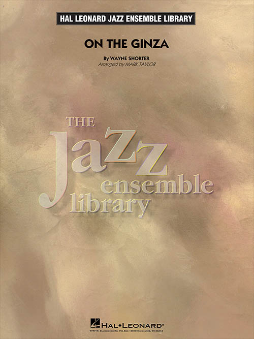On The Ginza: The Jazz Ensemble Library