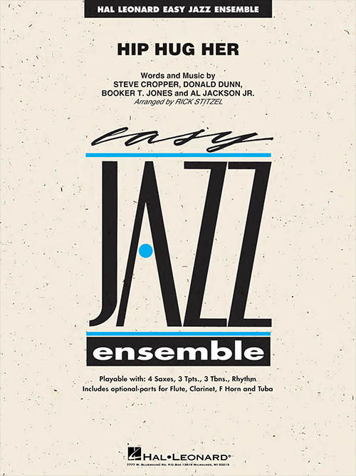 Hip Hug Her: Easy Jazz Ensemble
