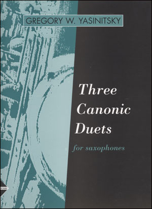 Three Canonic Duets for Saxophones
