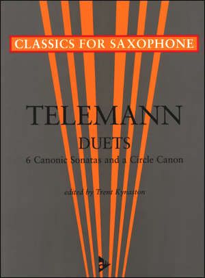 Telemann Duets - 6 Canonic Sonatas and a Circle Canon - Sax Duet