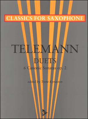 Telemann Duets - 6 Canonic Sonatas op. 2