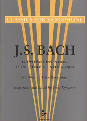 J.S. Bach - 15 2-Part Inventions for Alto & Tenor Saxophone