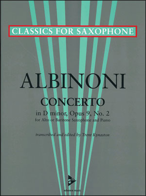 Albinoni Concerto in D minor, Opus 9, No. 2